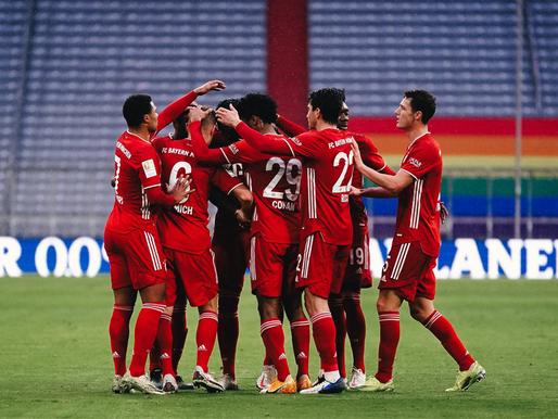 Favorīti svin uzvaras, Frankfurtes Eintracht ielaužas Top-4, 1. FC Köln pamet 16.vietu