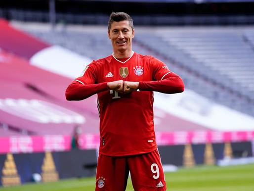 Levandovskim hat-trick 22 minūtēs un personāls rekords, Mainz 05 pamet izkrišanas zonu