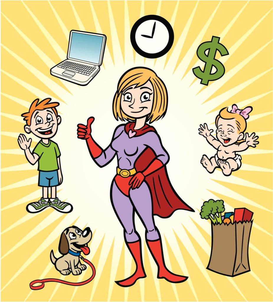 Budgeting and money super hero