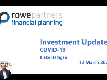 Covid-19 what does it mean for your investments?
