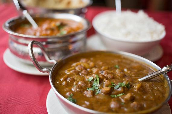 Lentil & veggie curry
