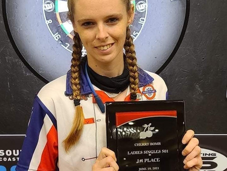 Dani Warmack qualifies for the Winmau World Masters in Holland!