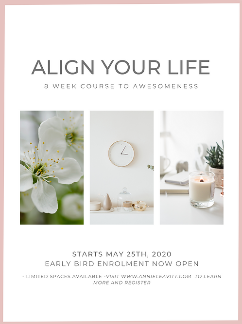 ALIGN YOUR LIFE 8 WEEK COURSE