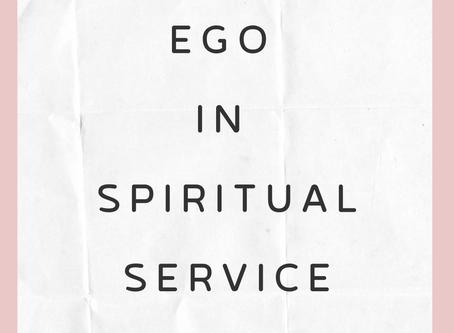 Ego in a spiritual life