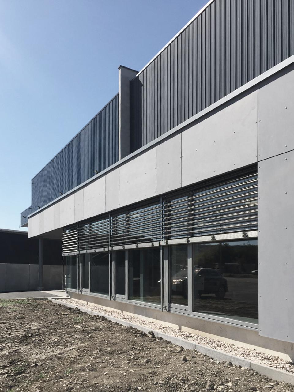 EXTENSION D'UN BATIMENT DE LOGISTIQUE   Projet livré   Champigneulles (54)   2019