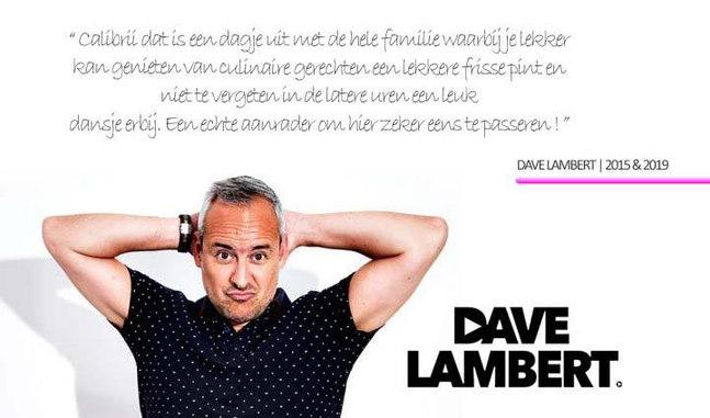 DAVE LAMBERT @ Calibrii