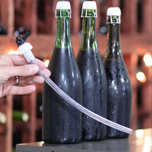Bottle Filler for Champagne and Sparkling Wine