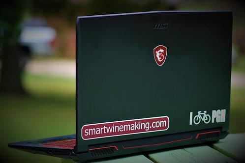 Smart Winemaking Bumper Sticker