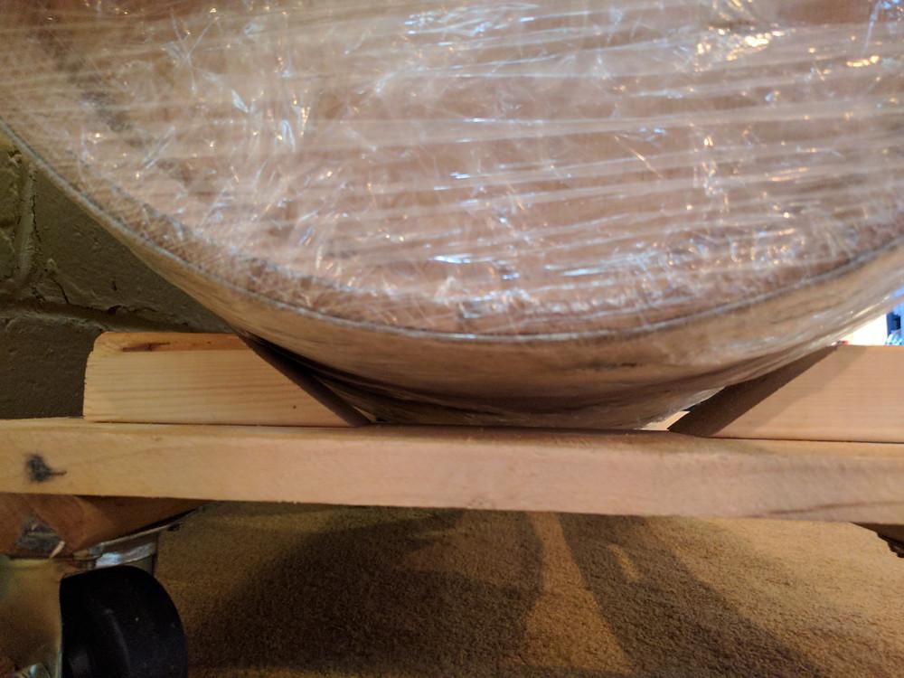 Homemade Barrel Dolly