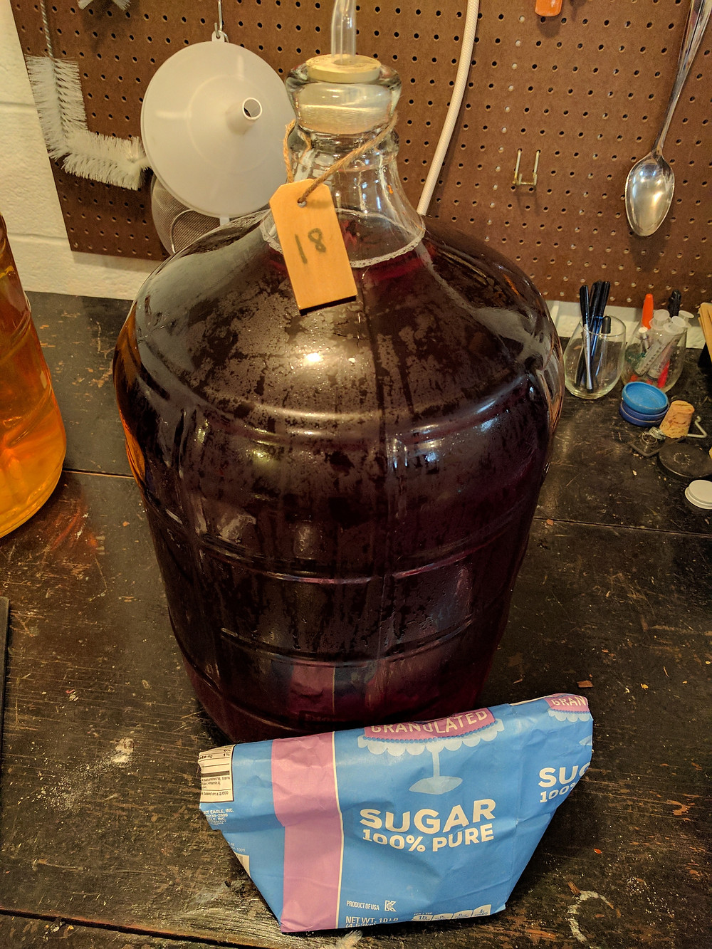 Adding Sugar to Wine