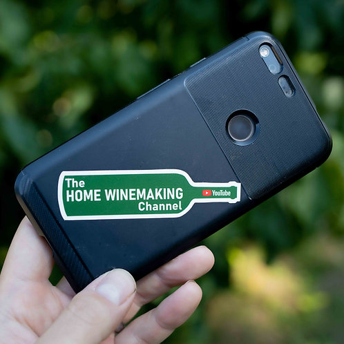 Bottle Sticker: The Home Winemaking Channel