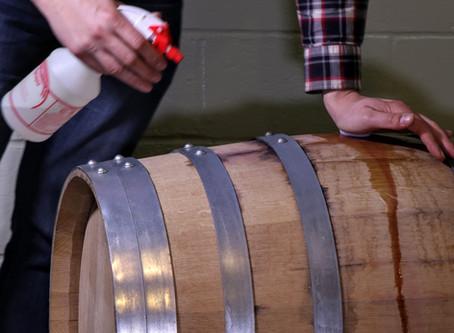 Homemade Sanitizer for Wine Equipment