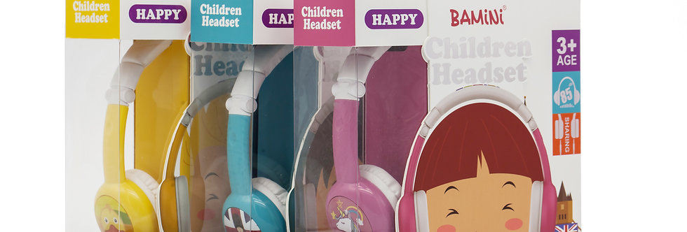 BAMiNi Happy Wired Headphone