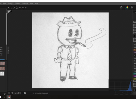 Blog #9: Behind the 'Art by Luke' Editing