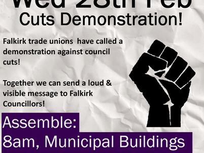 Council Cuts Demonstration - 28th Feb 2018