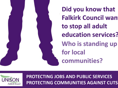 Austerity Cuts to Decimate Community Work in Falkirk Warns UNISON