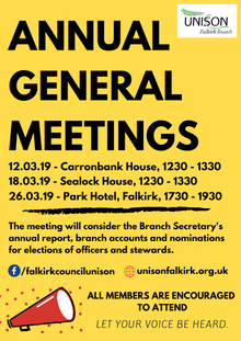 Annual General Meetings 2019