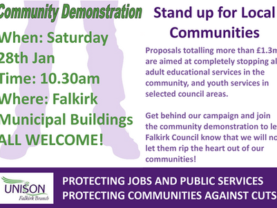 Community Demonstration - Stand up for Local Communities