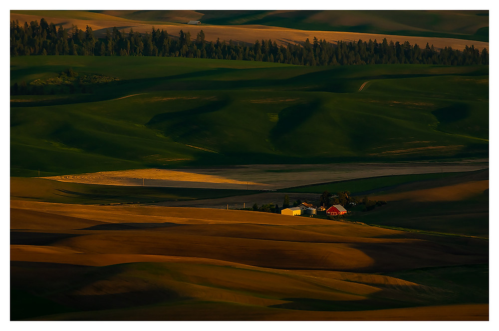 Sunset in the Palouse by Dan 2019