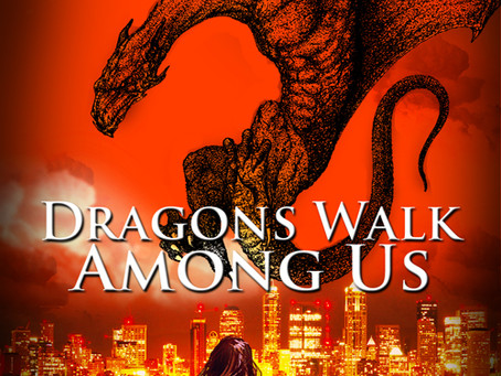 OMG!!! It's #NewRelease Day for Dragons Walk Among Us!!!