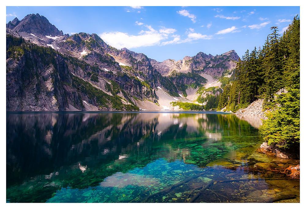 Snow Lake by Dan 2019