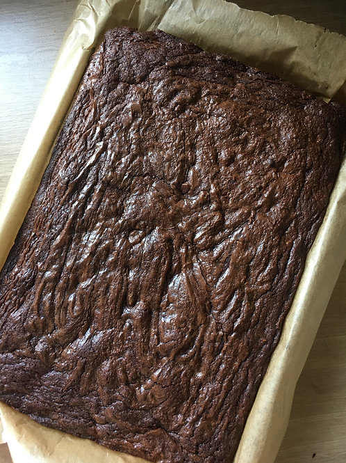 Classic Belgian Chocolate Brownies (Box of 6)
