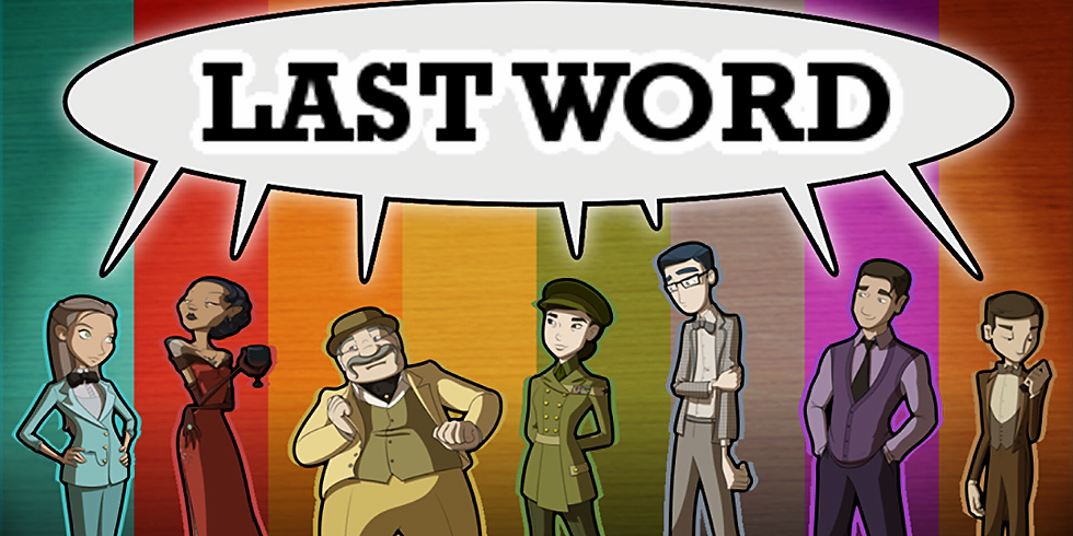 We Practice English: Team Competition-The Last Word