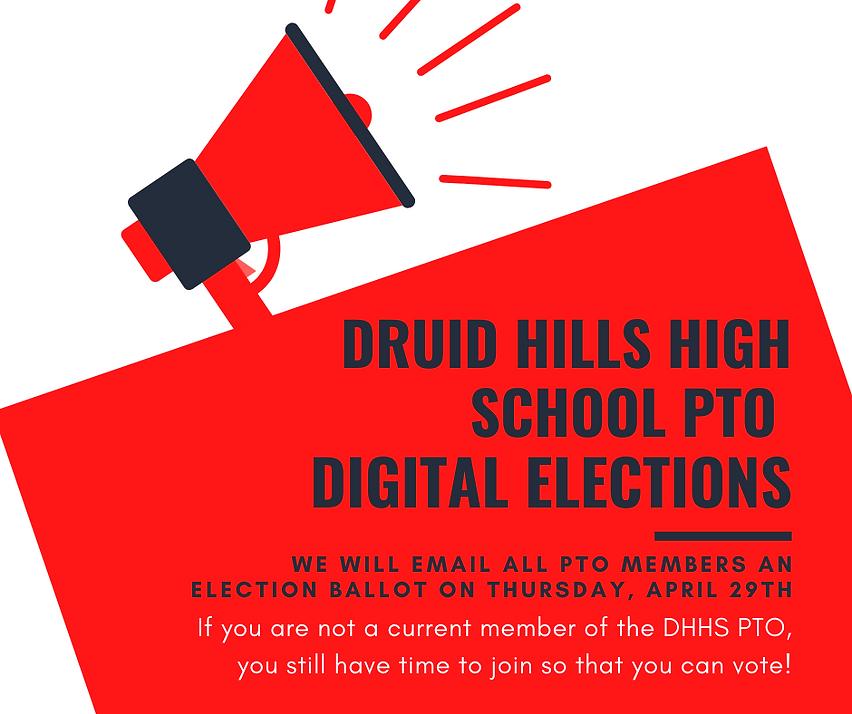 2021 2022 DHHS PTO Digital Elections FB