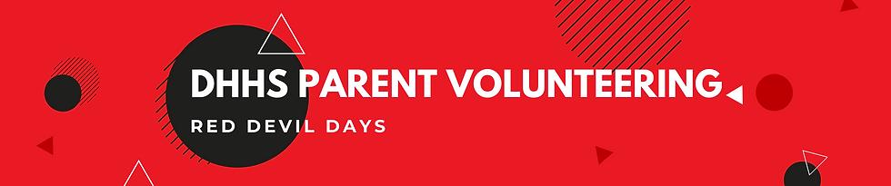 DHHS RDD Parent Volunteer Opportunities.