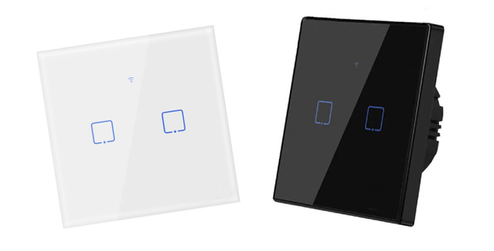 Smart WiFi Glass Touch Wall Switch For Apple Homekit Google Home