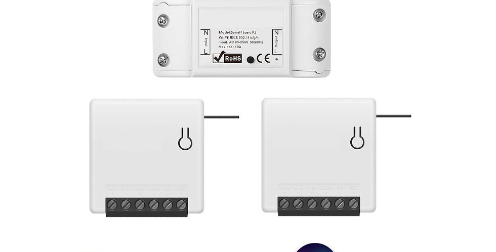 Smart Home Combo for Apple HomeKit Switch Google Assistant WiFi 2xMini 1xBasic