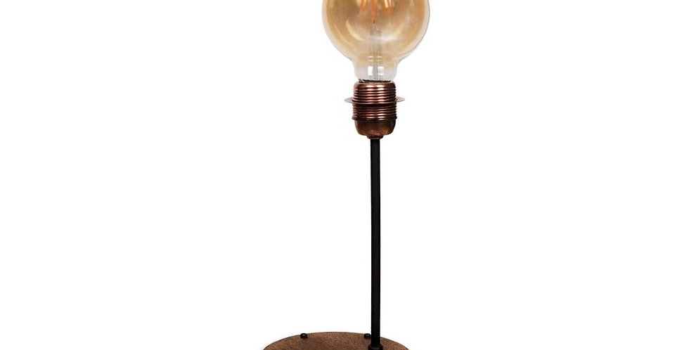 Rustic Table Lamp With Apple HomeKit SMART+ LED Lamp