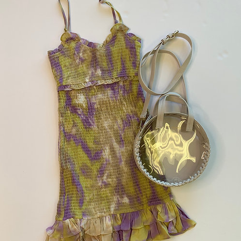 Tie Dye Smocked Dress