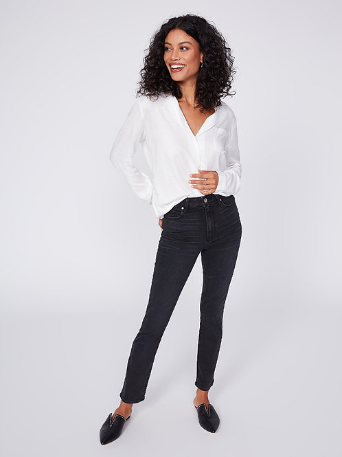 Ultra High-Rise Cindy Vintage in Black Willow Jean
