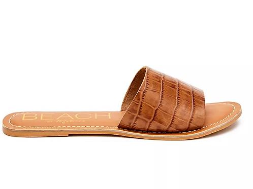 Cabana Tan Croc Slide