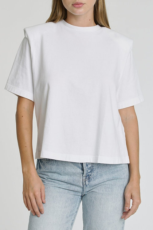 Brileigh shoulder pad tshirt