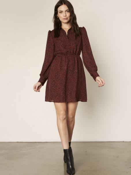 Sheryl Dress in Autumn Mauve