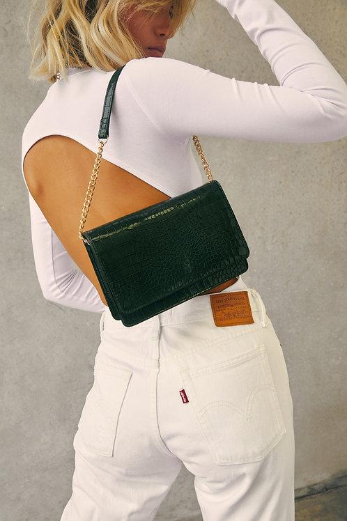 karma green bag