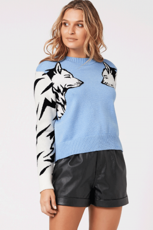 Wolf Pack Knit Sweater