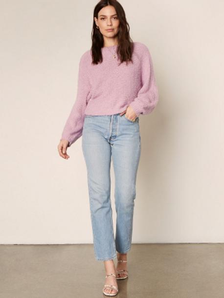 Perri Sweater in Violet Tulip