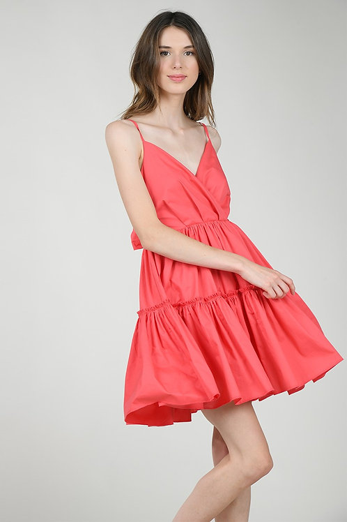 Lili Tiered Fit and Flare Dress