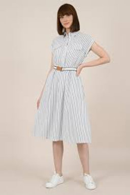 black and white day dress