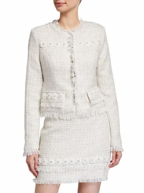 Flower Tweed Jacket