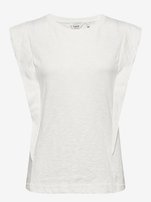 Bytella sleeveless Top White