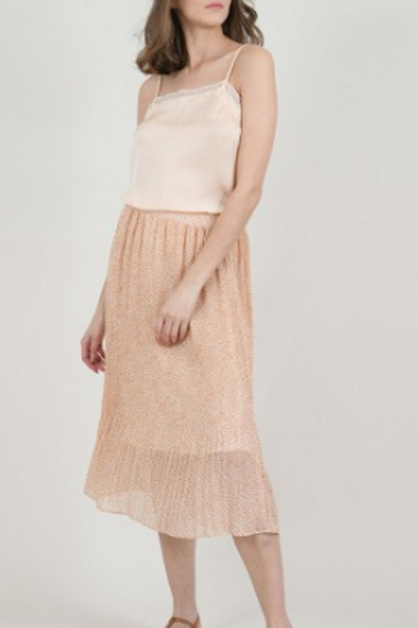 Ashley pink powder skirt