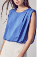 Bubble Shoulder Pad top