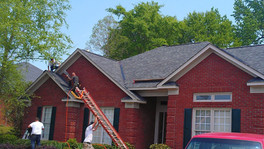 shadow gray 30yr arch shingle replacement roof project