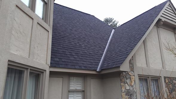 Rustic black 30yr arch shingle roof Coco Lake Cataula, GA