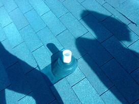 Plastic pipe boot 3tab shingle roof