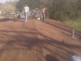 Rustic Red 3tab shingle roof